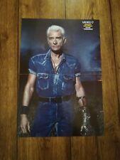 "Johnny Hallyday Poster ""Video7"""