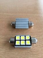 Interior Light x2 CREE Chip LED 15W Upgrade Bulb Land Rover Defender 90 110