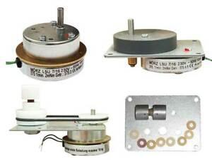 Mörz Pyramidenmotor Getriebemotor Platte Kupplung synchron Drehrichtung rechts