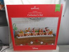 2016 Hallmark Disney Christmas Express Collector's Set