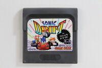 Sonic Drift Sega Game Gear GG Japan Import US Seller GC008