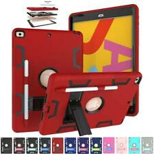 Apple iPad 7th Generation Shockproof Protective Case Kids Heavy Duty Stand Cover