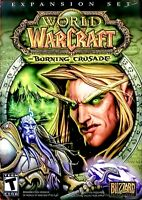 World of Warcraft: The Burning Crusade Expansion PC/Mac 2007 - Complete w Keys