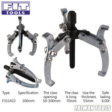 FIT TOOL 3 Jaws / ARM-Gear Puller Professional Quality Drop Forged  ( 100 mm )