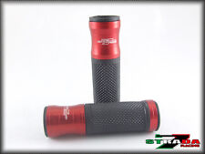 Ducati 695 Monster Strada 7 Racing CNC Hand Grips Red