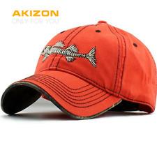 Fishing Baseball Cap Mens Hats Fishing Hat Adjustable Cap Cotton Hat for Men