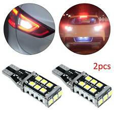 T15 W16W CANBUS 921 LED Tail Reverse Parking Light Bulbs White No Error