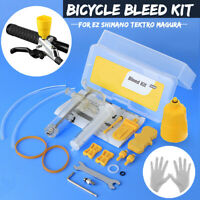 Hydraulic Bicycle Bike Disc Brake Bleed Tool Kit For EZ Shimano Tektro Magura