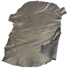 Grey Leather Hides Genuine Lamb Skins Soft Thin Sheepskin Craft Material  FS915