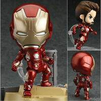 Iron Man Mark 45 Hero Edition PVC Action Figure Collectible Model Toy