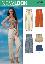 New Look Ladies Sewing Pattern 6055 Casual Trouser Pants & Shorts (NewLoo...