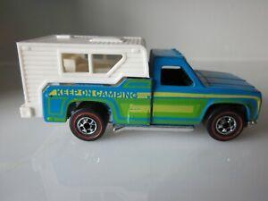 Mattel Hot Wheels Redline 1974 Keep On Camping Camper - All Original