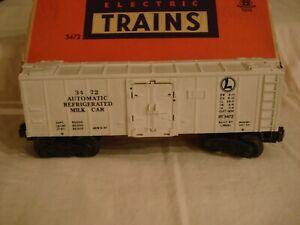 Lionel Train #3472 - Operating Milk Car with original box (Post War '49-53)