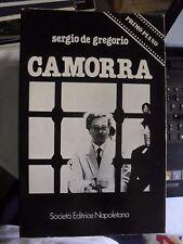 De Gregorio CAMORRA ed. SEN 1981