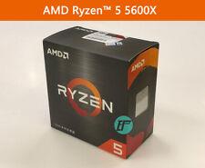 Amd Ryzen 5 5600X 6-Core 12-Thread Processor Chinese Box ready ship in hand