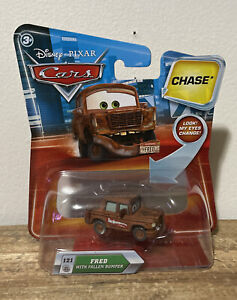 Disney Pixar Cars Fred With Fallen Bumper Chase Lenticular Rare