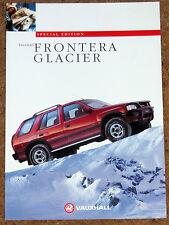 1994 VAUXHALL FRONTERA GLACIER Sales Brochure - Special Edition Model 2.4i 2.3TD