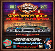PRE ORDER - DUE LATE SEPT -  XW FALCON GT GTHO 50 YEARS 3mx1m  FABRIC BANNER