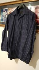 Country Road Long Sleeve Cotton Size M Slim Fit Blue Men's Shirt Excell. Condt.