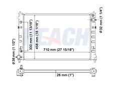 Radiator Reach Cooling 41-2456 fits 02-06 Mazda MPV