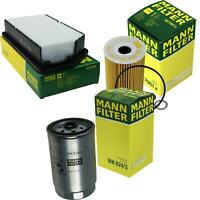 Mann-filter Set Air Oil Fuel Hyundai i30 Cw GD 1.6 Crdi 1.4 Coupe