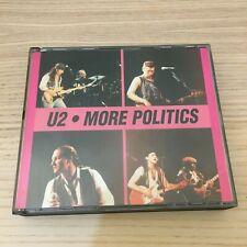 U2 - More Politics - 2 X CD Album Boxset Live - 1990 Pop Tunes France - RARE!