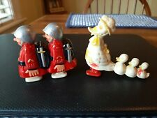New ListingVintage Ramp Walker Celluloid Toy Walking duck family Plus Hap and Hop Soldiers