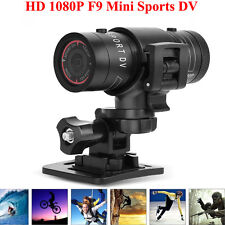 Mini F9 Full HD 1080P Waterproof Sports Helmet Camera DV Action DVR Video Cam