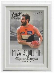 2021 Footy Stars Prestige Marquee (MP8) Stephen CONIGLIO Gws 17/40