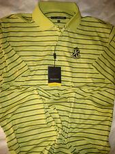 Greg Norman Shark Sleeve Stafford Uv 50+ Play Dry Golf Polo Shirt-Nwt- Xl