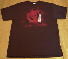 NEW! GEARS OF WAR 3 OMEN Hot Topic T-Shirt BLACK Large GOW L RED