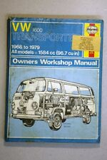 VW TRANSPORTER 1600 (1968 - 79) HAYNES WORKSHOP MANUAL (WM31)
