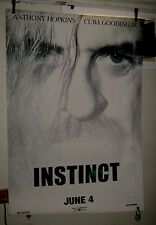 "HUGE Original D/S INSTINCT 48""X70"" Bus Shelter Poster UNIQUE ART of HOPKINS"