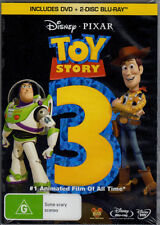 TOY STORY 3 - DVD + 2 DISC BLU-RAY (3 DISC SET) BRAND NEW!!! SEALED!!!