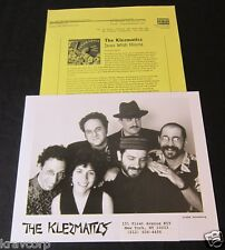 THE KLEZMATICS 'JEWS WITH HORNS' 1995 PRESS KIT—PHOTO