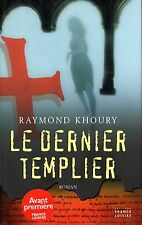 RAYMOND KHOURY / LE DERNIER TEMPLIER / GRAND FORMAT TBE