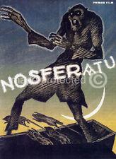 Vintage Vampire Horror Movie Poster Nosferatu -24x36