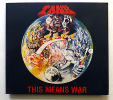 TANK This means war CD Metal Mind Digipack +3 BONUS TRACKS Heavy Metal