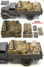 Kit Résine Échelle 1/35 la seconde guerre mondiale Opel Blitz camion cargo allemand charge # 2 arrimage