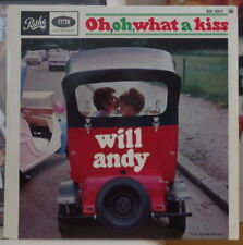 WILL ANDY OH, OH, WHAT A KISS FRENCH EP PATHE 1966