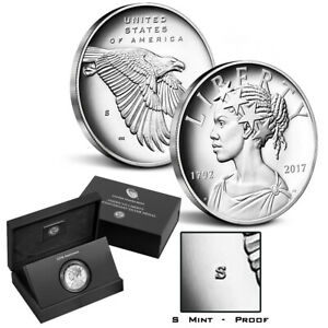 2017-S American Liberty 225th Anniversary 1 oz. Proof Silver Medal