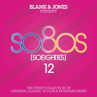 BLANK & JONES - PRESENT SO80S [SO EIGHTIES] 12  2 CD NEU