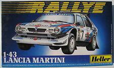 Heller 80177 - LANCIA MARTINI - RALLYE - 1:43 - Auto Modellbausatz - Model Kit