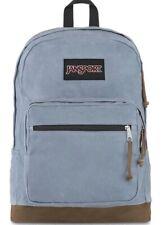 "JanSport Right Pack Expression- Lightweight 15"" Laptop Backpack, Grey Slate Canv"