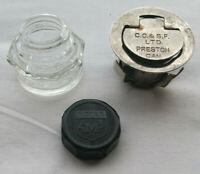 Vintage C.O. & S.F. Inkwell & Moyer Ink Bottle School Desk Inkwell Preston, ON