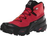 SALOMON Cross Hike Mid GTX, Scarponcino da Escursionismo Uomo (Goji Berry/Bla...