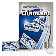 Croma Diamant Double Edge (DE) Razorblade - 200 Blades