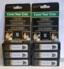 Cover Your Gray touch up hair color stick for Men 15 oz  Black ( PACK OF 6 )