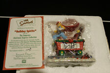 """The Simpsons Christmas Express Collection """"Holiday Spirits"""""""