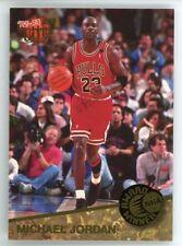 1992-93 Ultra Basketball Michael Jordan Award Winner Insert Card